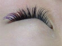 アイラッシュサロン リュネット(Eyelash salon Lunette)の雰囲気(カラーエクステ、フラットラッシュ、アップワードラッシュあり♪)