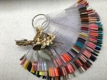 ネイルサロン ウノ 湘南平塚(UNO)の雰囲気(豊富なカラーをご用意し、手元に似合う色をご提案します♪)