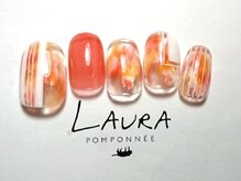 ローラポンポニー(Laura pomponnee)/暖色×ホワイト