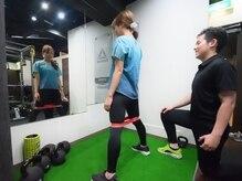 リフレッシュメント トレーニングジム(Refreshment Training Gym)/自体重でのトレーニング