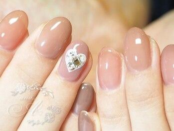 ネイルルーム アンドエー(nail room and...A)/うる艶カラー