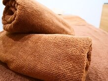リラックスアンドビューティーサロン ハレアカラ(Hale'akala)の雰囲気(施術で使用するタオルは清潔でフカフカです)