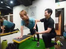 リフレッシュメント トレーニングジム(Refreshment Training Gym)/腕周りのトレーニング