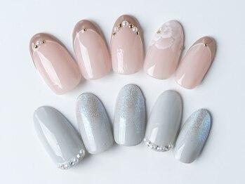 ネイルルームリノ(nail room Rino)の写真/お得に可愛くネイルが出来るクーポンございます♪ハンドワンカラーコース ¥4500→¥4000