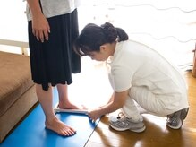 靴や足のチェックも入念に行い苦痛の原因を特定します★