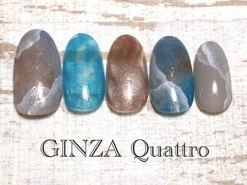 ギンザ クワトロ(GINZA Quattro)/定額/LuxuryC 8500円/ブルー
