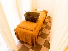 長楽の雰囲気(カーテンで区切られている半個室空間です!)