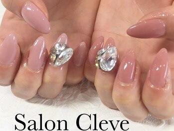 サロンクレーヴ(Salon cleve)の写真/長さ出し1本450円★あなたのお好みの長さやデザインでなりたいを叶える◎深爪・短い爪もスラっと美しく!