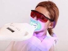 ホワイトニングバー 新潟店(WhiteningBAR)/◇LEDライトを歯に照射します