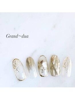 グランドゥア(Grand dua)/ハンド/持ち込みデザイン¥8360