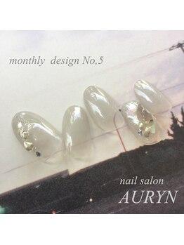 アウリン(AURYN)/5月限定monthly design No,5
