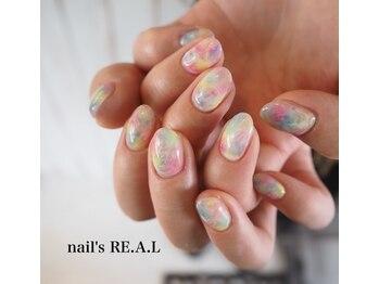 ネイルズリアル(nail's REAL)/モヤモヤネイル