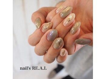 ネイルズリアル(nail's REAL)/ピスタチオネイル