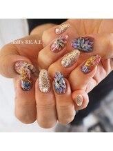 ネイルズリアル(nail's REAL)/フラワーネイル
