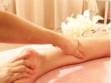 リラクゼーションサロン YSの雰囲気(足のむくみもスッキリ解消♪リンパをゆっくり流します。)