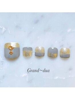 グランドゥア(Grand dua)/フット/持ち込みデザイン¥8910