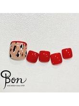 ネイルアトリエ ボン(nail atelier bon)/フットデザイン☆シェラック