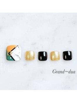グランドゥア(Grand dua)/選べる定額フットネイル¥7430