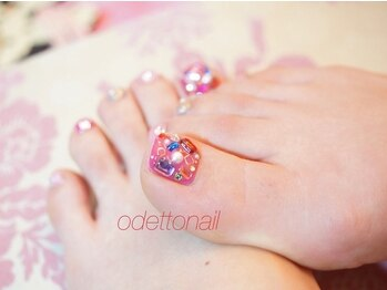 ネイルサロン オデット(Odetto)/Odetto Foot Nail Design