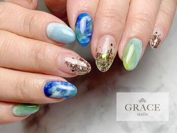 グレース ネイルズ(GRACE nails)/惑星ネイル