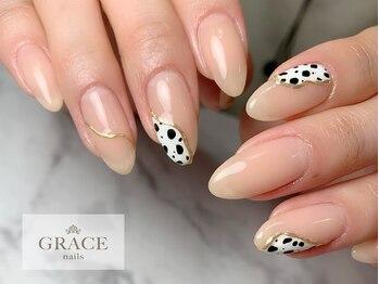 グレース ネイルズ(GRACE nails)/ダルメシアン