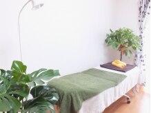 ビューティースタジオベル(Beauty Studio Bell)の雰囲気(明るい緑がきれいな店内でゆったり施術♪プライベート空間★)
