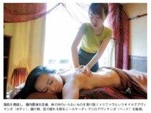 もみの気ハウス 東京上野店/オイルは、擦り込みます!
