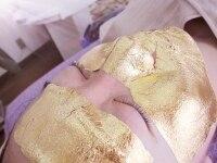 高級旅館から本格的な金箔エステ