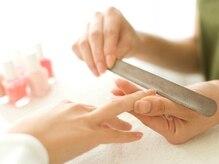 自爪に優しい施術にこだわっています