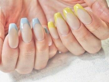 コットン ネイル(cotton nail)/フレンチネイル