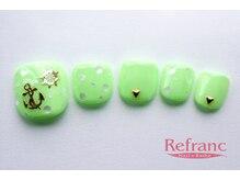 ルフラン 武蔵境店(Refranc)/ネオンカラーでマリンネイル♪