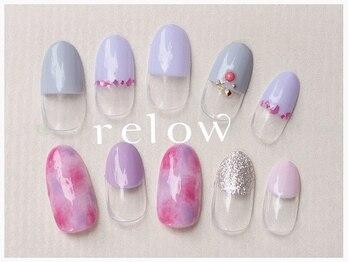 リロウ(relow)/7月キャンペーンネイル☆3,4