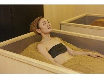 えん 横浜店の写真/たった15分で汗びっしょり♪身体を芯から温める/代謝UP/血行促進/diet/冷え改善など。健康的な身体へ。