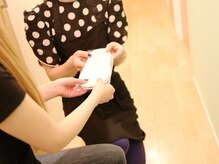 ワキシングサロン アンパラレルド(Waxing salon Anne Parallel De)の雰囲気(徹底した衛生管理と、お客様に寄り添う丁寧な施術が魅力。)