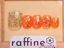 ラフィネ ネイルサロン(raffine)/【FOOT定額コース8980円】