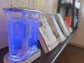ヨサパーク ロワゾーブルー(YOSA PARK Loiseau blue)/水素水で水分補給できます♪