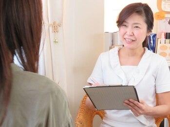 美筋フェイシャル専門サロン カイオナ(KAIONA)/丁寧なカウンセリング