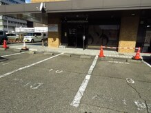 プラッツ(PLATZ)の雰囲気(駐車場は店舗目の前の「10番」に停められます。)