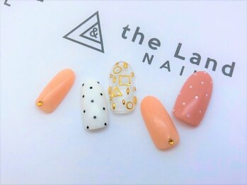 ザ ランド ネイル(the Land Nail)/ピンドットの景色 △浅井