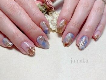 ヘアーデザイン ジュモク(Jumoku)/お任せニュアンスnail♪