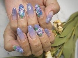 紫陽花3d♪