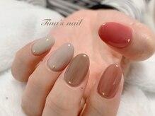 ティナズ ネイル(Tina`s nail)の雰囲気(simple nail)
