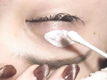 サロンドフェルメールの写真/無料でお肌の保護&抗菌除菌&美容クリームをご提供。まつげ3stepトリートメントは温&冷でリラックス効果も!
