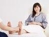 妊娠中もOK!マタニティコース★足腰のお疲れに◎リフレ(足裏/膝下)60分¥6600