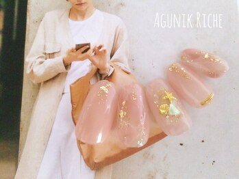アグニークリッシェ(Agunik Riche)/【夏ネイル】