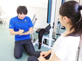 加圧トレーニングルーム P3/カウンセリング1