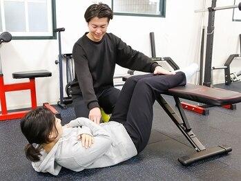 ボディケア コー(Ko.)の写真/【初めての方にもオススメ!】筋力や運動頻度は人それぞれ。一人一人のためのパーソナルプログラムを提案!