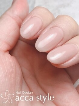 アッカスタイル acca styleの写真/爪の先からご機嫌に☆深爪や巻き爪等の自爪のお悩みを改善します♪ネイルのケアなら《acca style》で◎