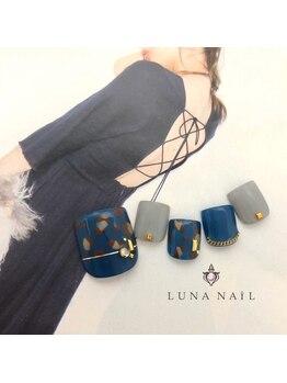 ルナ ネイル(LUNA NAIL)/レオパードフットネイル