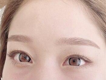 ベリンダ アイラッシュサロン(belinda)の写真/『美を求めた黄金比の仕上がりに★』骨格診断でお顔全体のバランスを見極め、デザイン!朝の快適をご提供♪